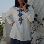 Tunique Hélène Blanc